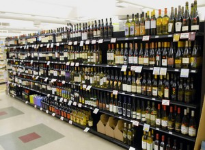 Wine Shope Aisle