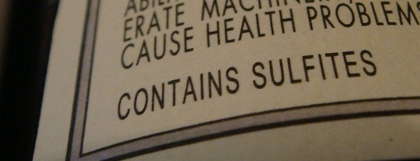 "Two Little Words: ""Contains Sulfites"""