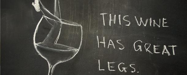 wine legs