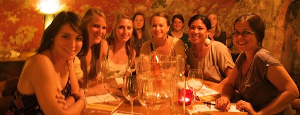 Spring Student Wine Tasting at Pasta Cosy